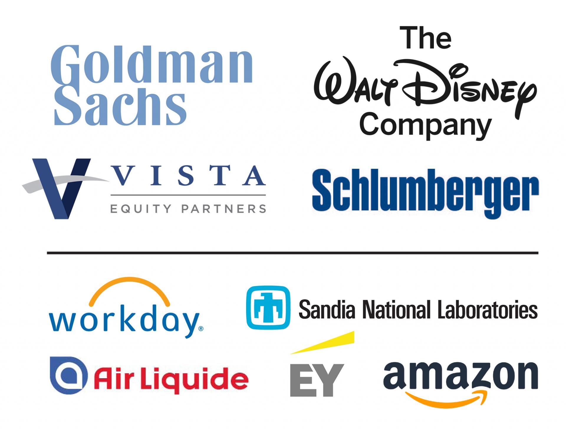 Logos for BOOM 2019 Sponsors