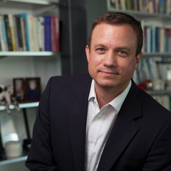 Greg Morrisett in his office