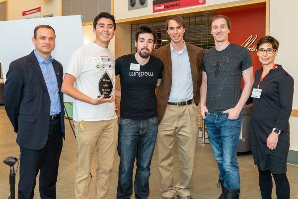 Brella winning Faculty Choice Award