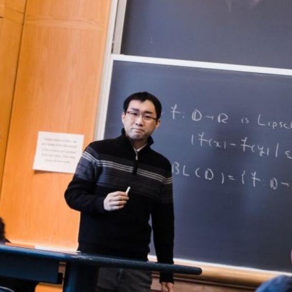 Kato teaching in class
